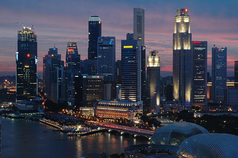 تعرفه السياحة سنغافورة