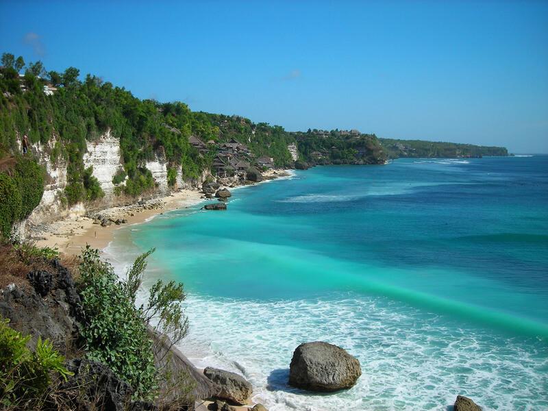 Plage de Bali, Indonésie