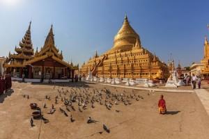 Shwezigon Pagode Myanmar