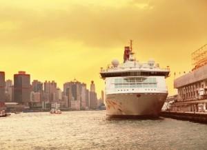 bateau de croisière à Hong Kong