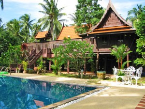 thailande maison avec piscine
