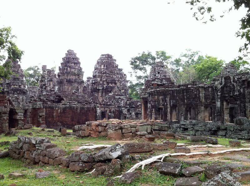 Le parc archéologique d'Angkor, magnifiques vestiges de plusieurs capitales de l'empire khmer